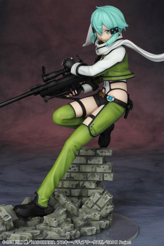 The Latest Sinon Figure Has an Amazing Level of Detail haruhichan.com Sword Art Online II Sinon figure anime Sword Art Online 2 SAO 05