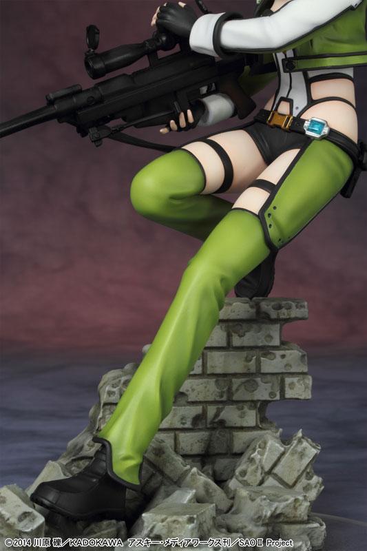 The Latest Sinon Figure Has an Amazing Level of Detail haruhichan.com Sword Art Online II Sinon figure anime Sword Art Online 2 SAO 12