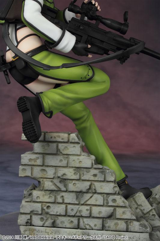 The Latest Sinon Figure Has an Amazing Level of Detail haruhichan.com Sword Art Online II Sinon figure anime Sword Art Online 2 SAO 13