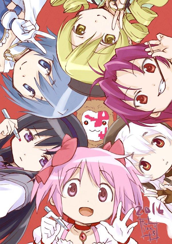 The Mahou Shoujo Madoka Magica Crew Wish You a Happy New Year 2