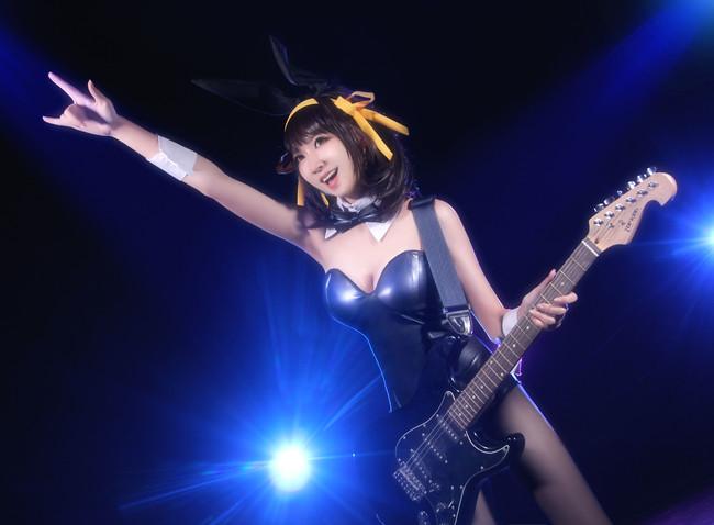 The Melancholy of Haruhi Suzumiya Episode 12 god knows cosplay 0008