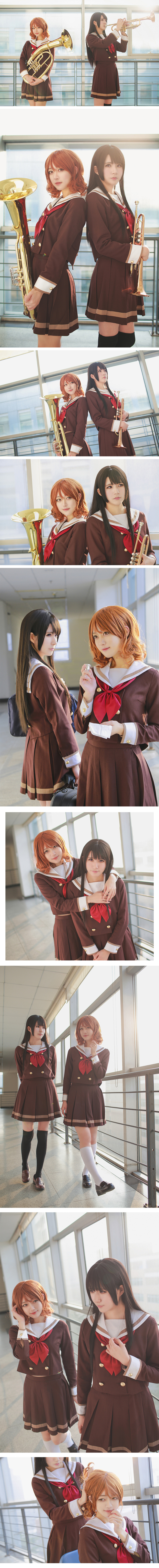 These Kumiko and Reina Cosplayers Are Ready for Valentines Day2