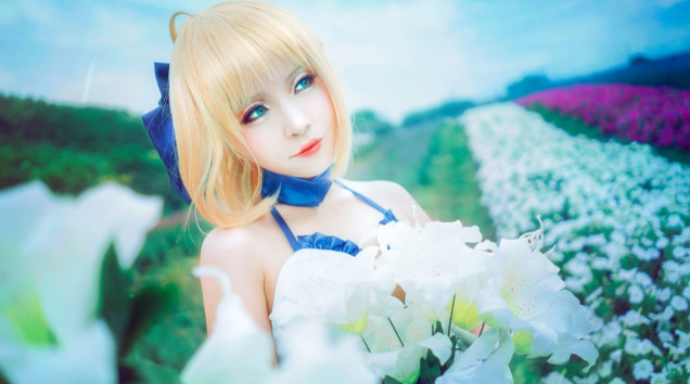 This Saber Lily Cosplayer Will Capture Your Heart in 10th Anniversery Type-Moon Photoset 16