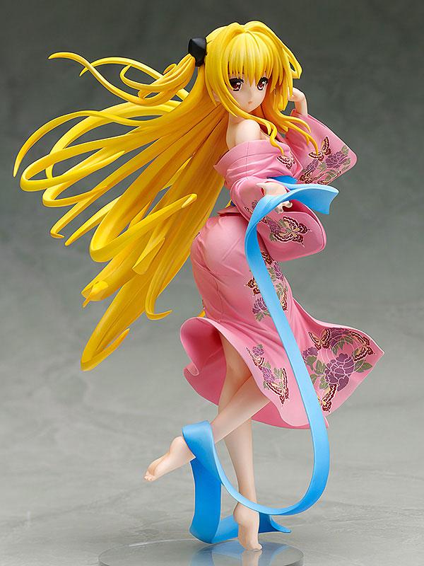 To Love-Ru Darkness Golden Darkness Anime Figure Yukata Version 000