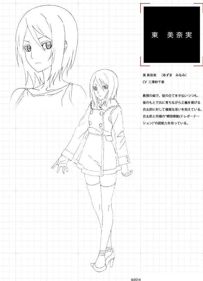 Tokyo-ESP-anime-Character-Designs-Minami-Azuma