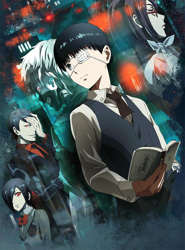 Tokyo Ghoul Anime series visual