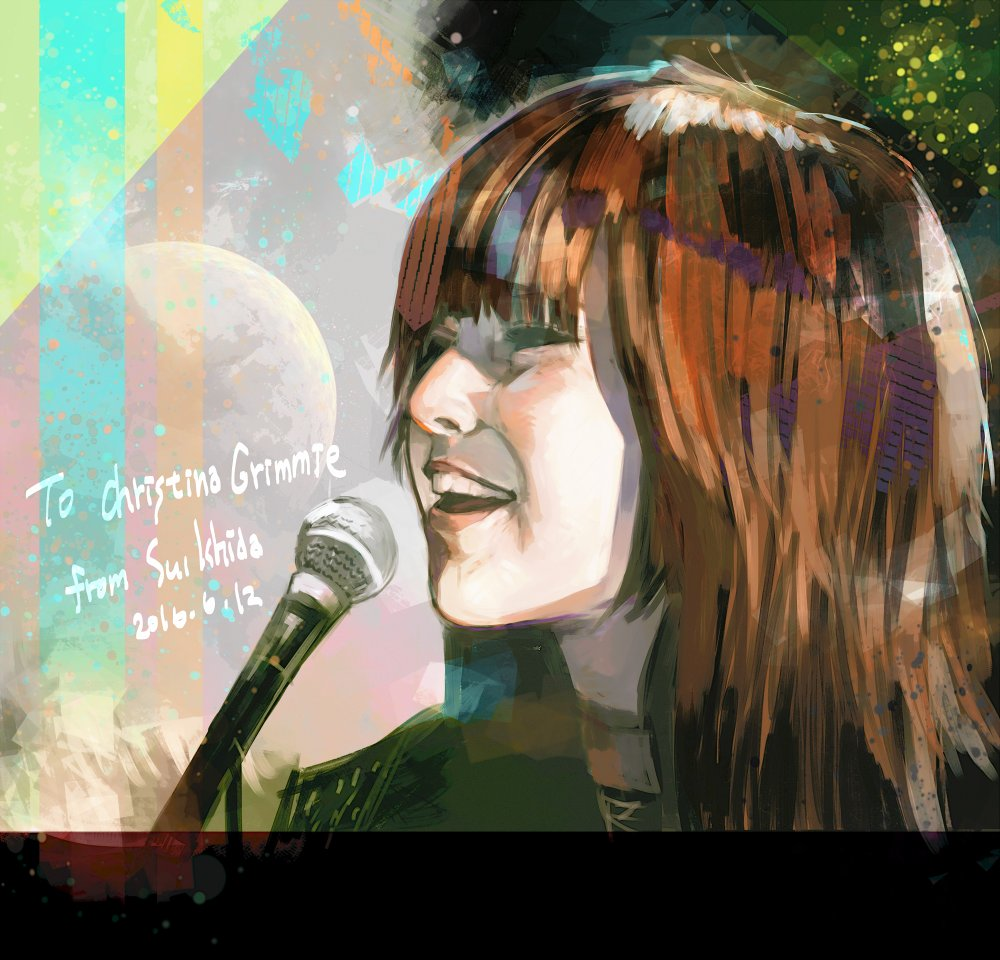 Tokyo Ghoul Author Pays Tribute to Christina Grimmie