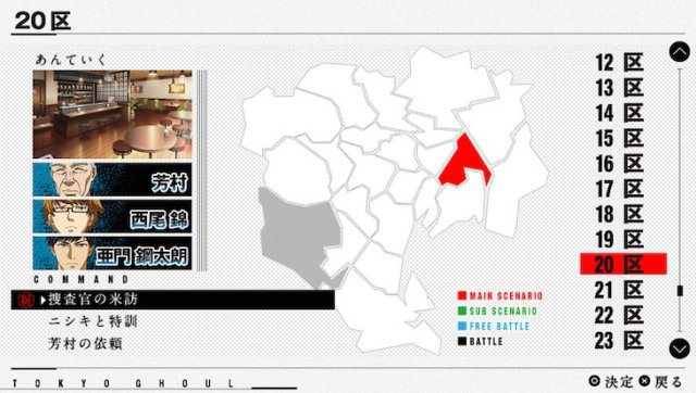 Tokyo Ghoul Jail gameplay screenshot 5