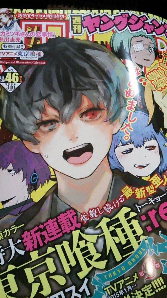Tokyo Ghoul Season 2 Scheduled for January 2015  haruhichan.com Tokyo Ghoul 2 announcement