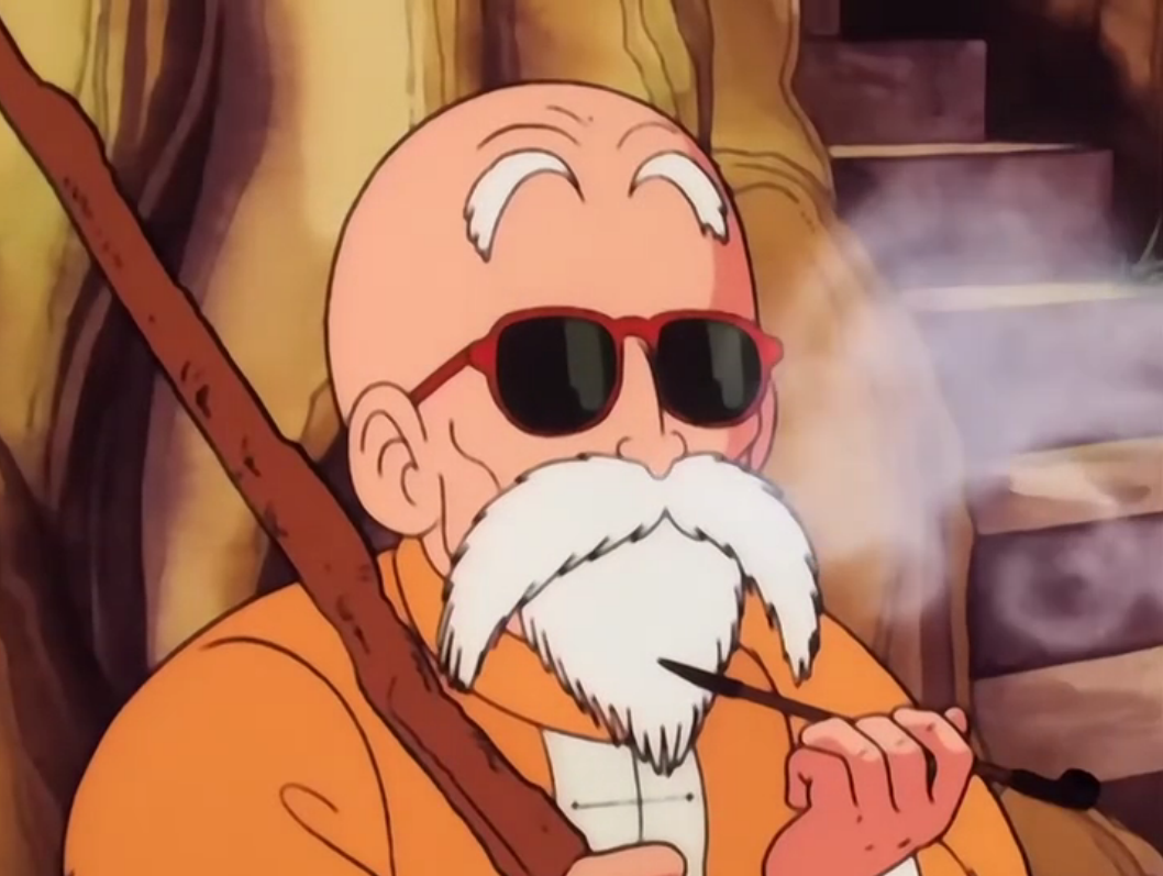 Top 10 Anime Characters That Went from Strong to Weak haruhichan.com Master Roshi Dragon Ball