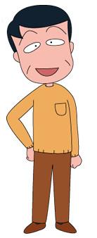 Top 10 Anime Characters You Wouldn't like to Have as Your Father Hiroshi Sakura Chibi Maruko-chan