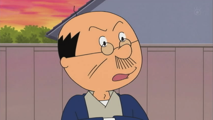 Top 10 Anime Characters You Wouldn't like to Have as Your Father Namihei Isono Sazae-san