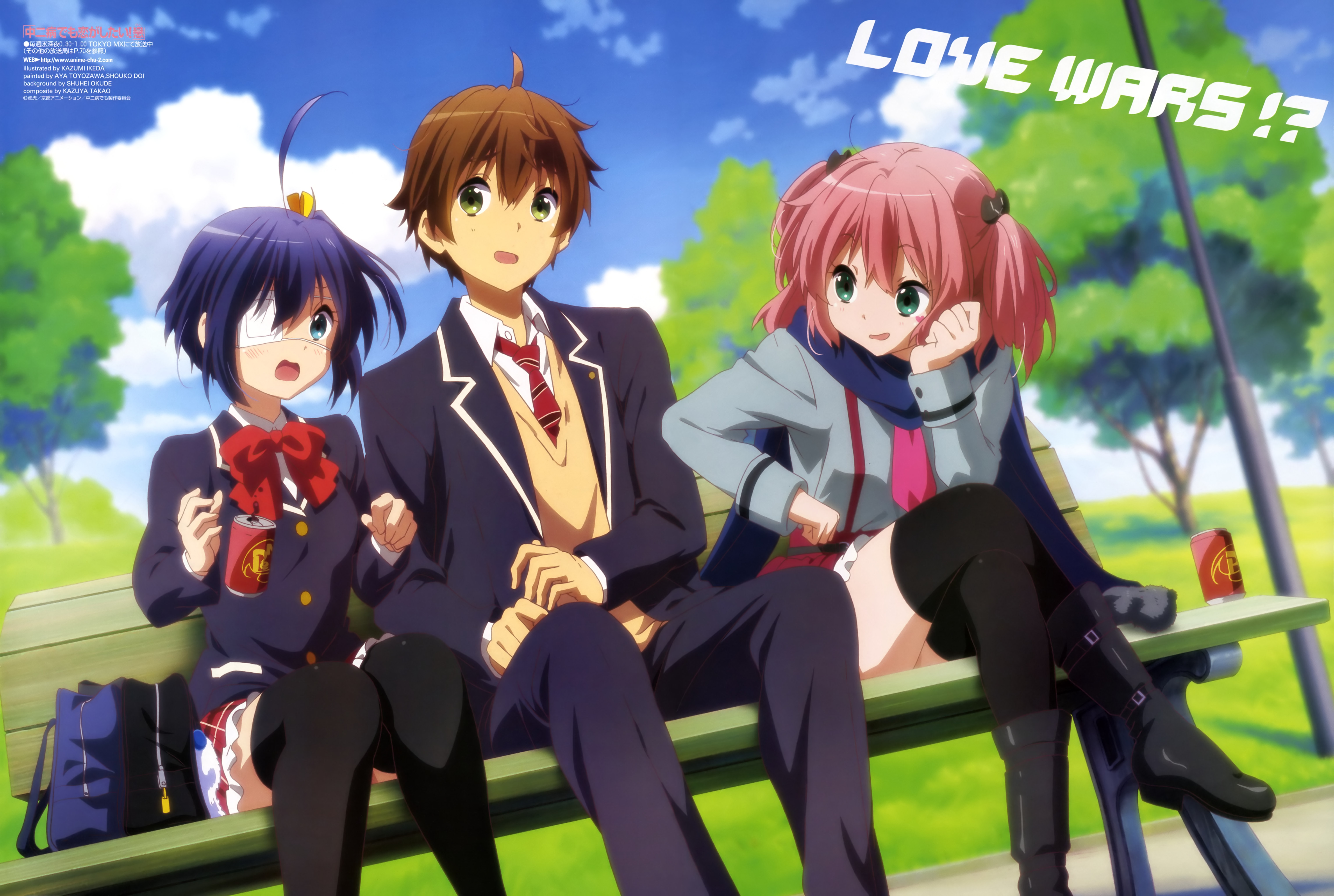 Top 10 Anime Series Males Would Recommend to Others haruhichan.com Chuunibyou demo Koi ga Shitai!