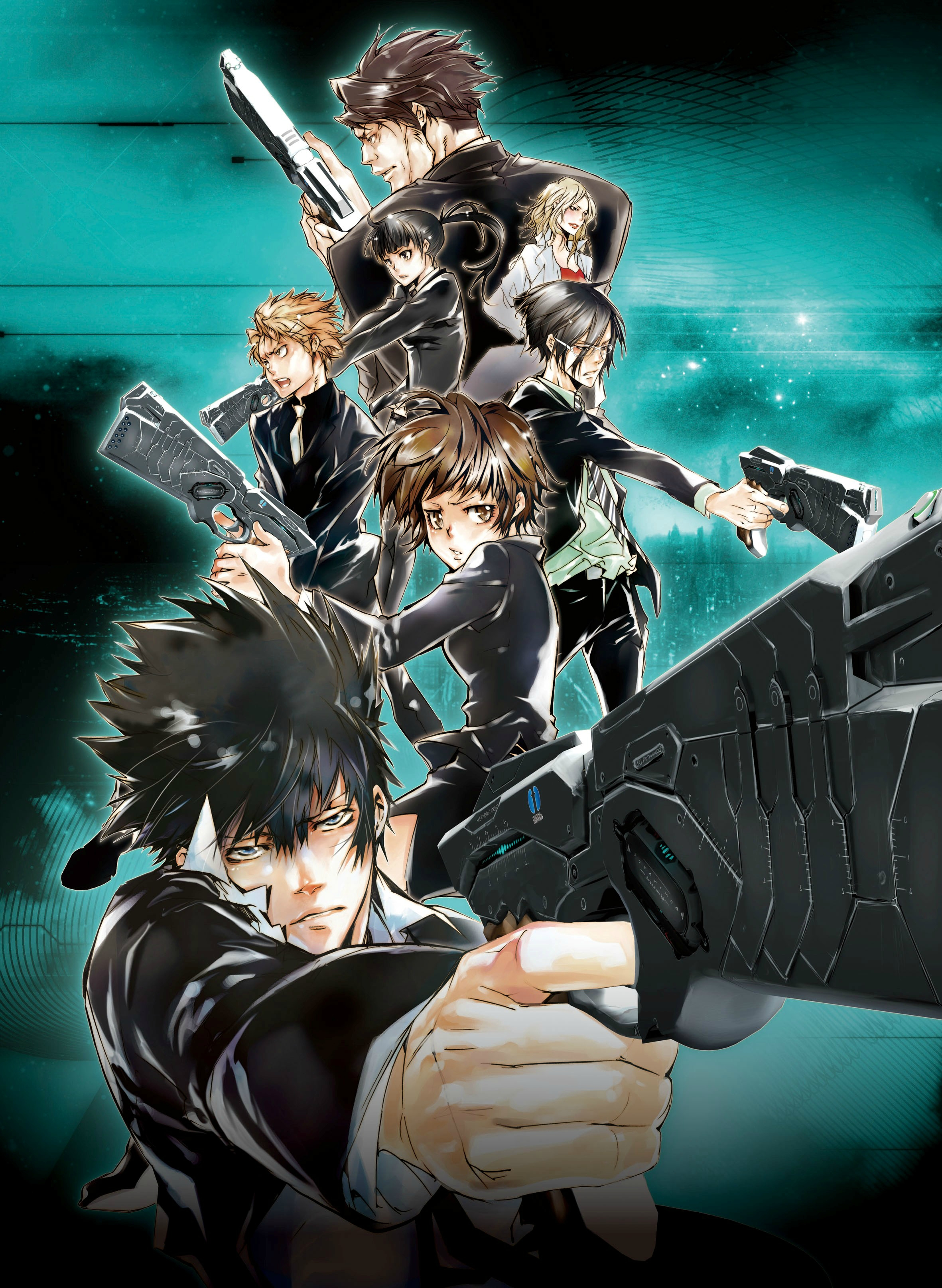 Top 10 Anime Series from NewType's May 2015 Issue psycho-pass