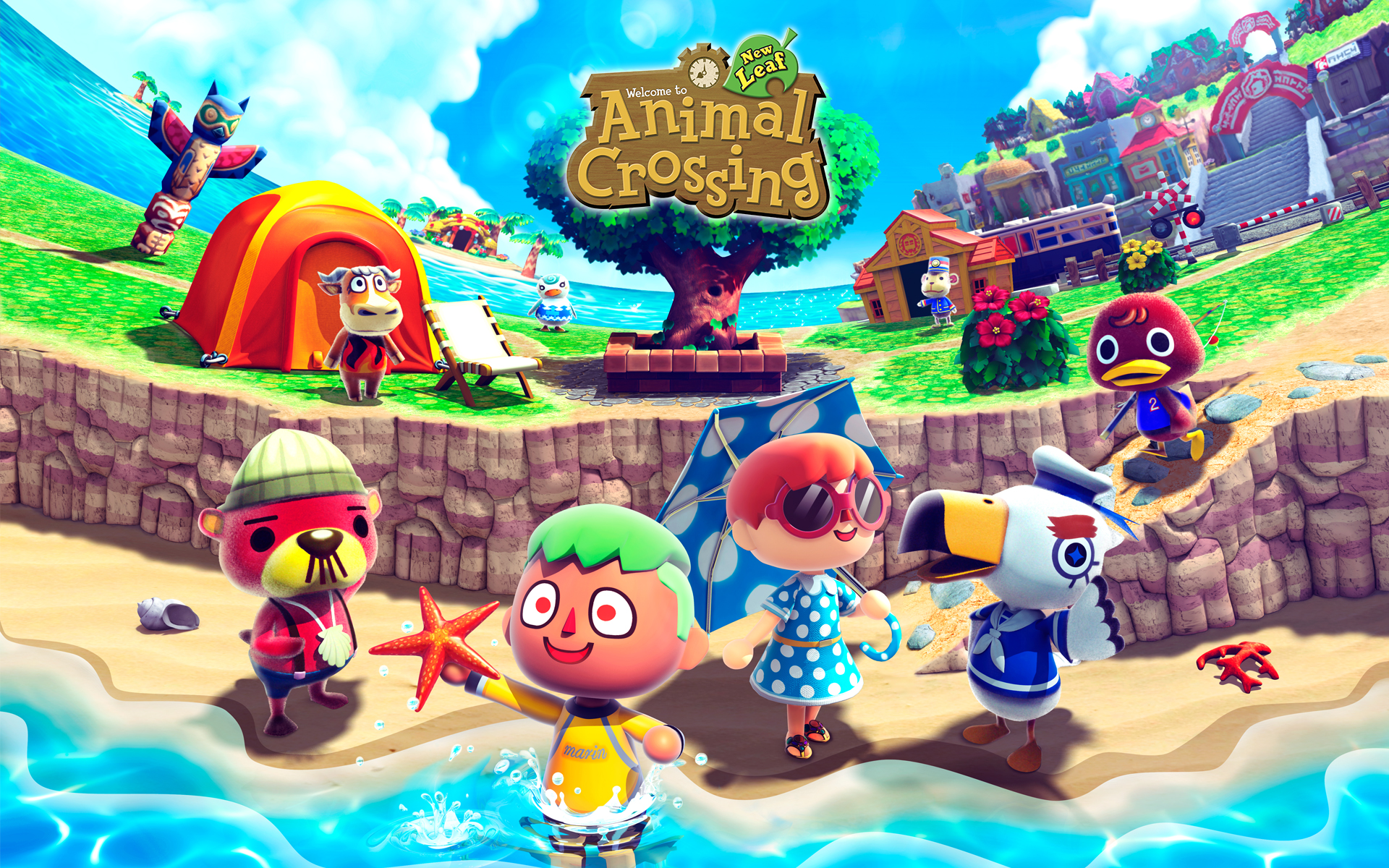 Top 10 Video Game Worlds Fans Would like to Live In Animal Crossing