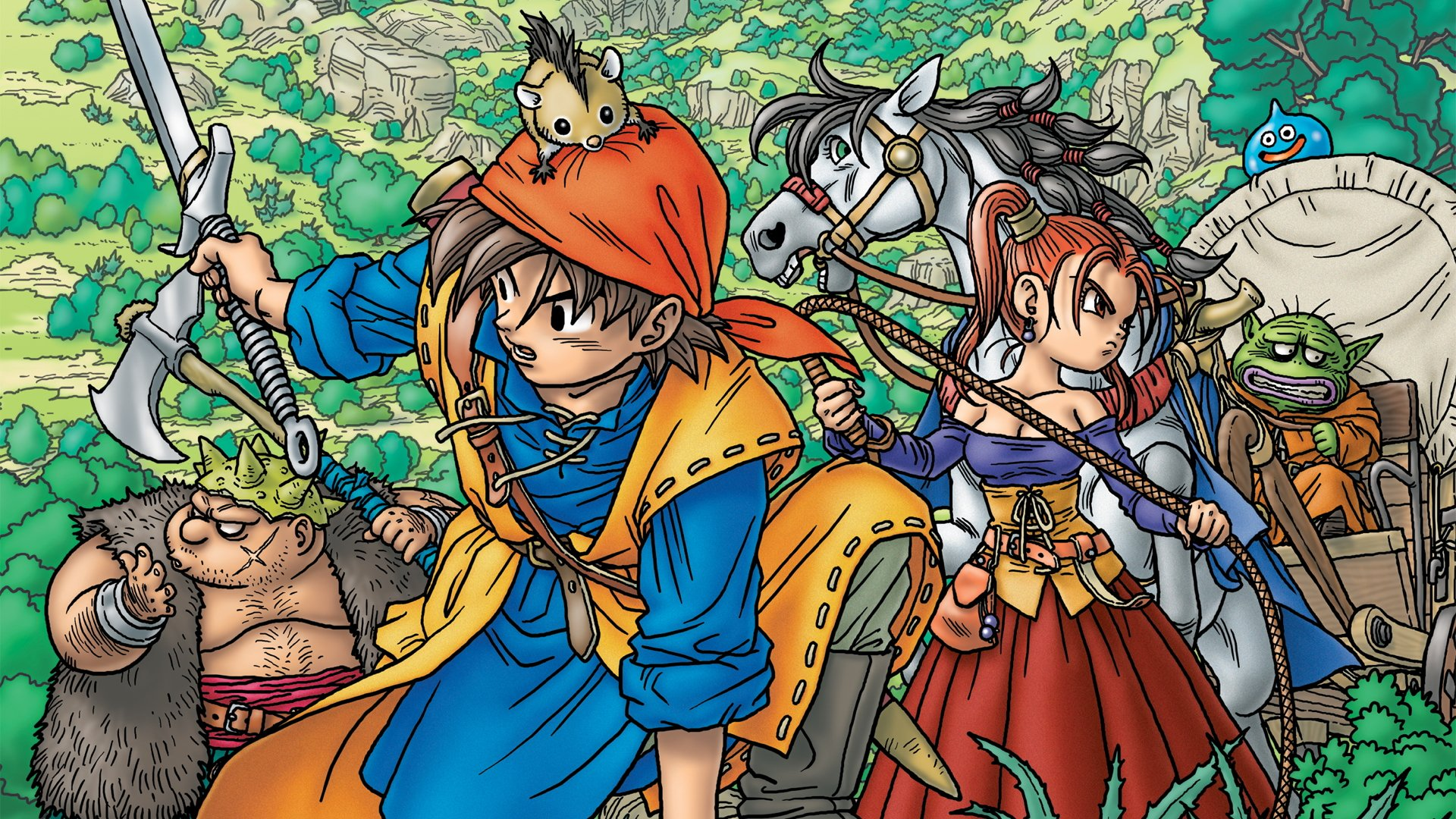 Top 10 Video Game Worlds Fans Would like to Live In Dragon Quest