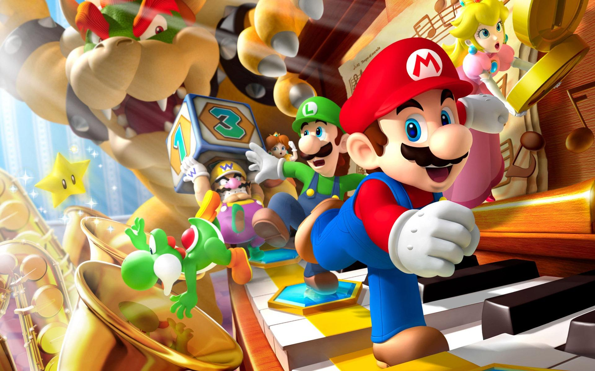 Top 10 Video Game Worlds Fans Would like to Live In Super Mario