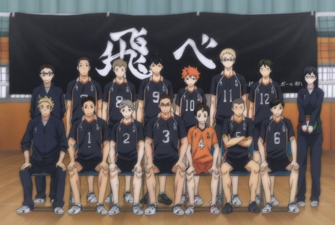 Top 20 Anime School Clubs People Want to Join Karasuno High Volleyball Club