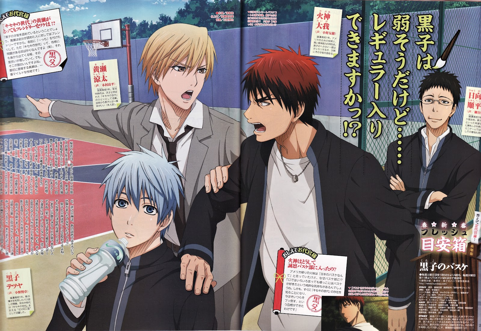 Top 20 Anime You Should Watch on Your Last Day Alive Kuroko no Basket