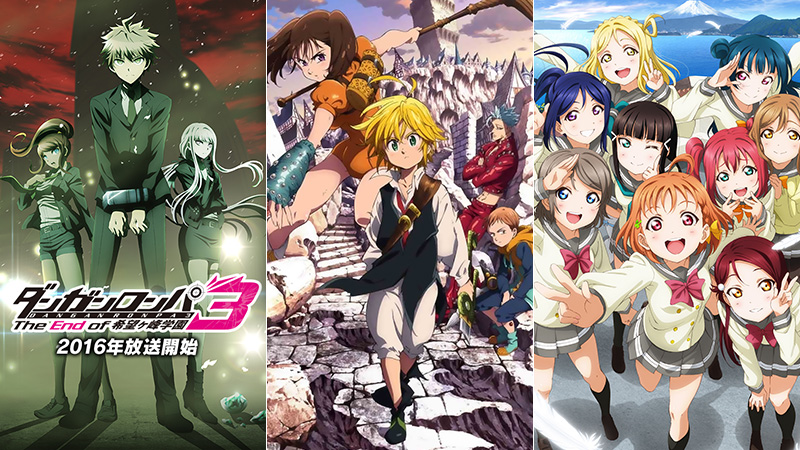 Top 20 Most Anticipated Anime of Summer 2016