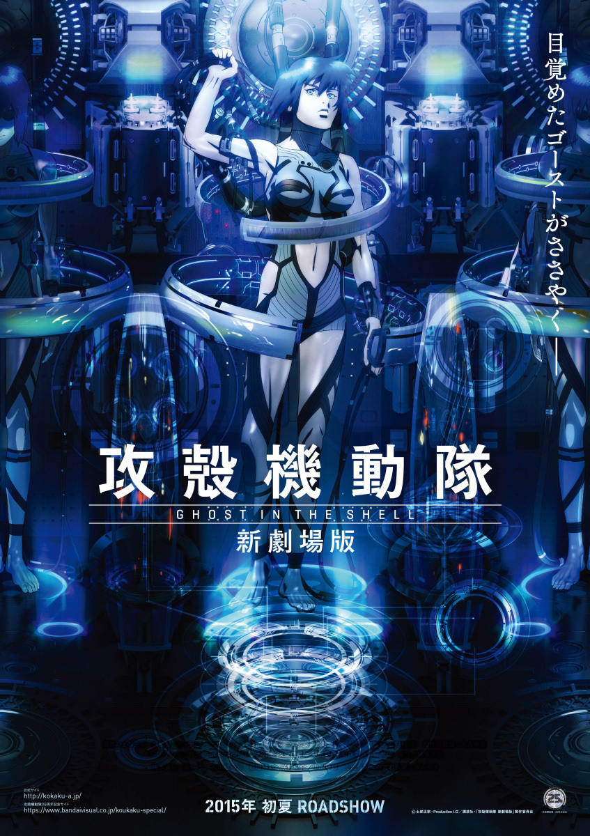 Top 20 Most Psychological Anime haruhichan.com Ghost in the Shell