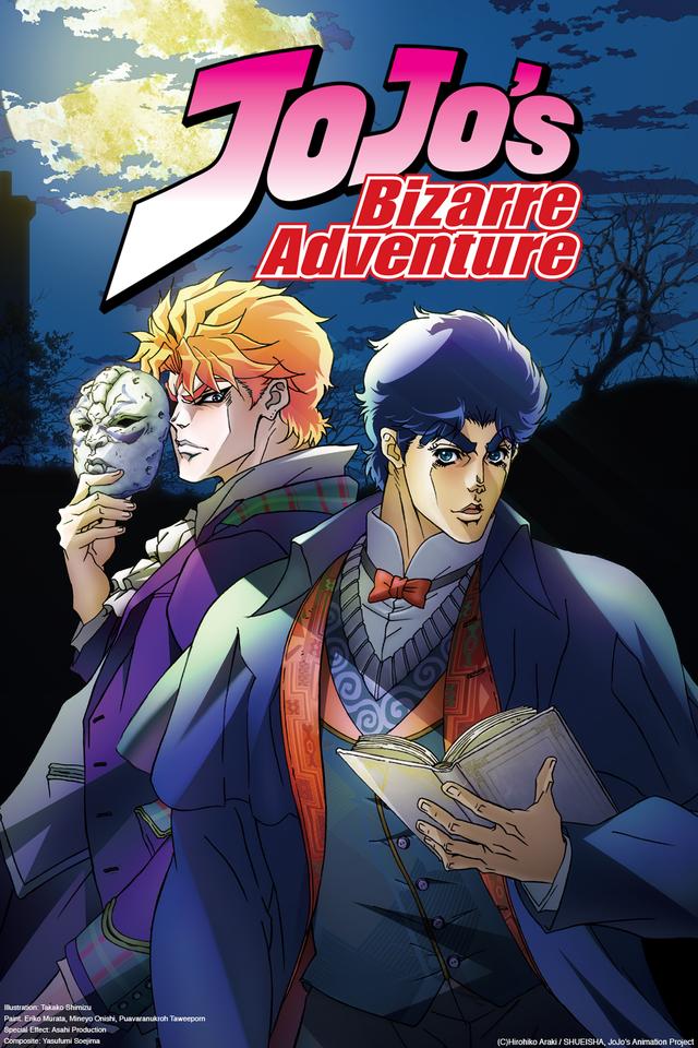 Top 20 Most Psychological Anime haruhichan.com Jojo's Bizarre Adventure