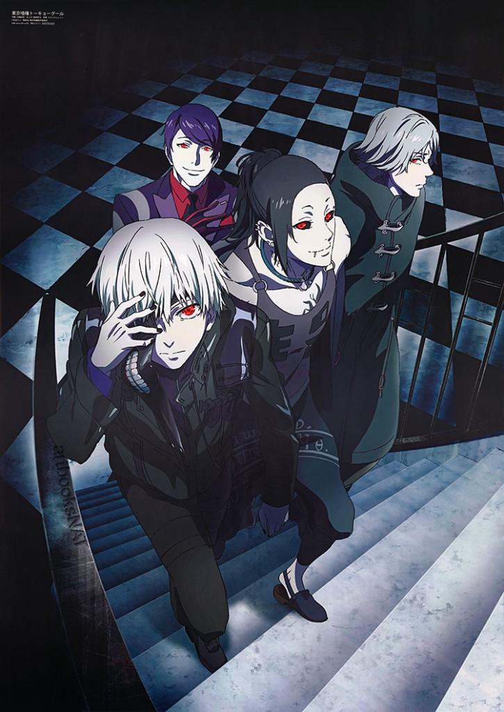 Top 20 Winter 2015 Anime According to Famitsu haruhichan.com Tokyo Ghoul 2