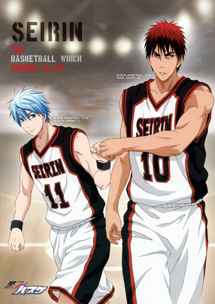 Top 30 Best Anime Duos of the Same Gender haruhichan.com Kuroko Tetsuya and Taiga Kagami Kuroko no Basket