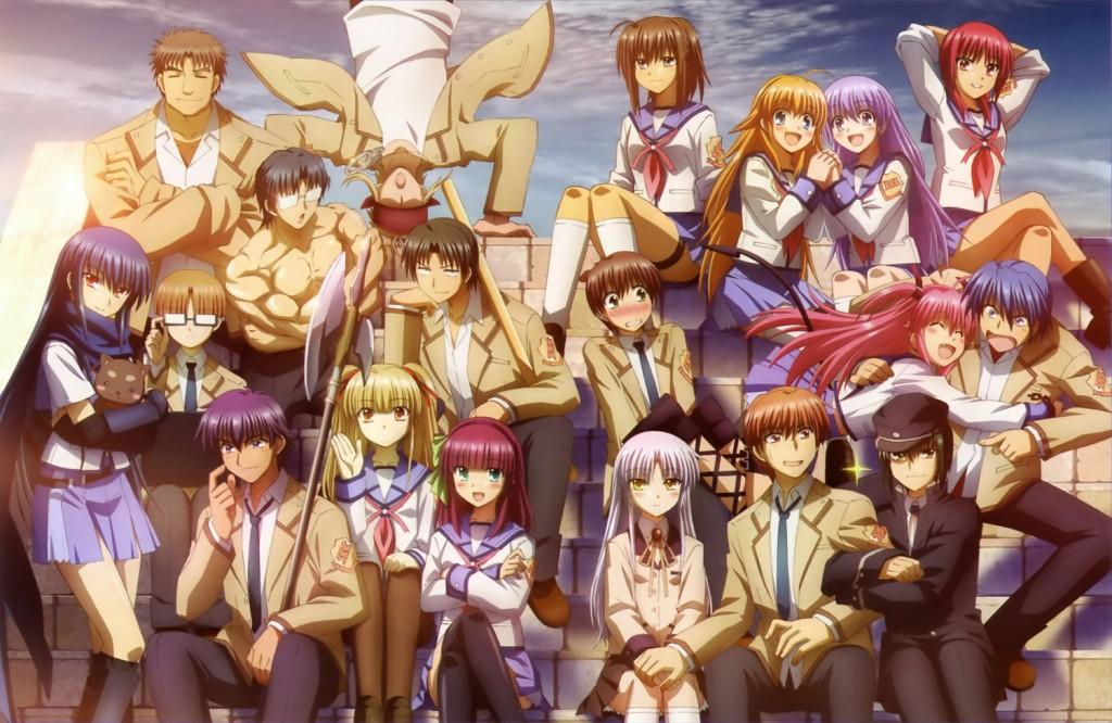 Top 30 addicting anime Top 30 Angel Beats! haruhichan.com series