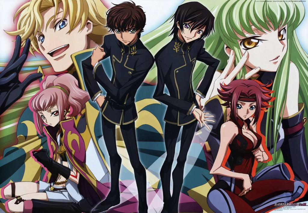 Top 30 addicting anime Top 30 Code Geass Hangyaku no Lelouch haruhichan.com series