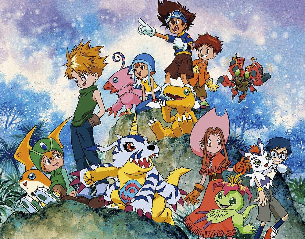 Top 30 addicting anime Top 30 Digimon Adventure visual haruhichan.com series