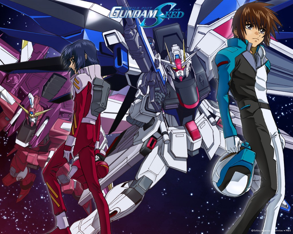 Top 30 addicting anime Top 30 Mobile Suit Gundam SEED haruhichan.com series