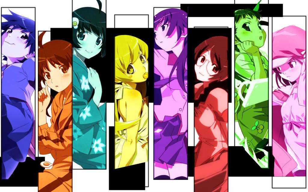 Top 30 addicting anime Top 30 Monogatari series haruhichan.com series