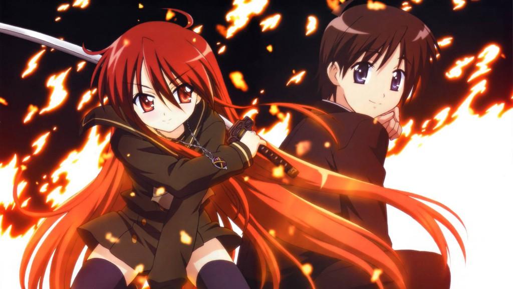 Top 30 addicting anime Top 30 Shakugan no Shana visual haruhichan.com series
