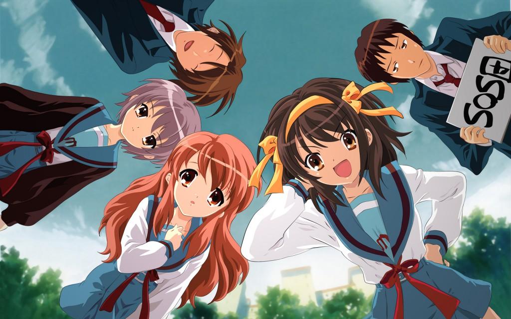 Top 30 addicting anime Top 30 Suzumiya Haruhi no Yuuutsu series haruhichan.com