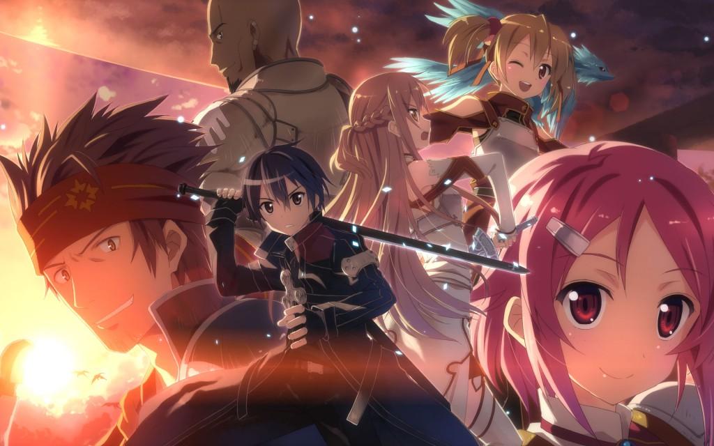 Top 30 addicting anime Top 30 Sword Art Online haruhichan.com series