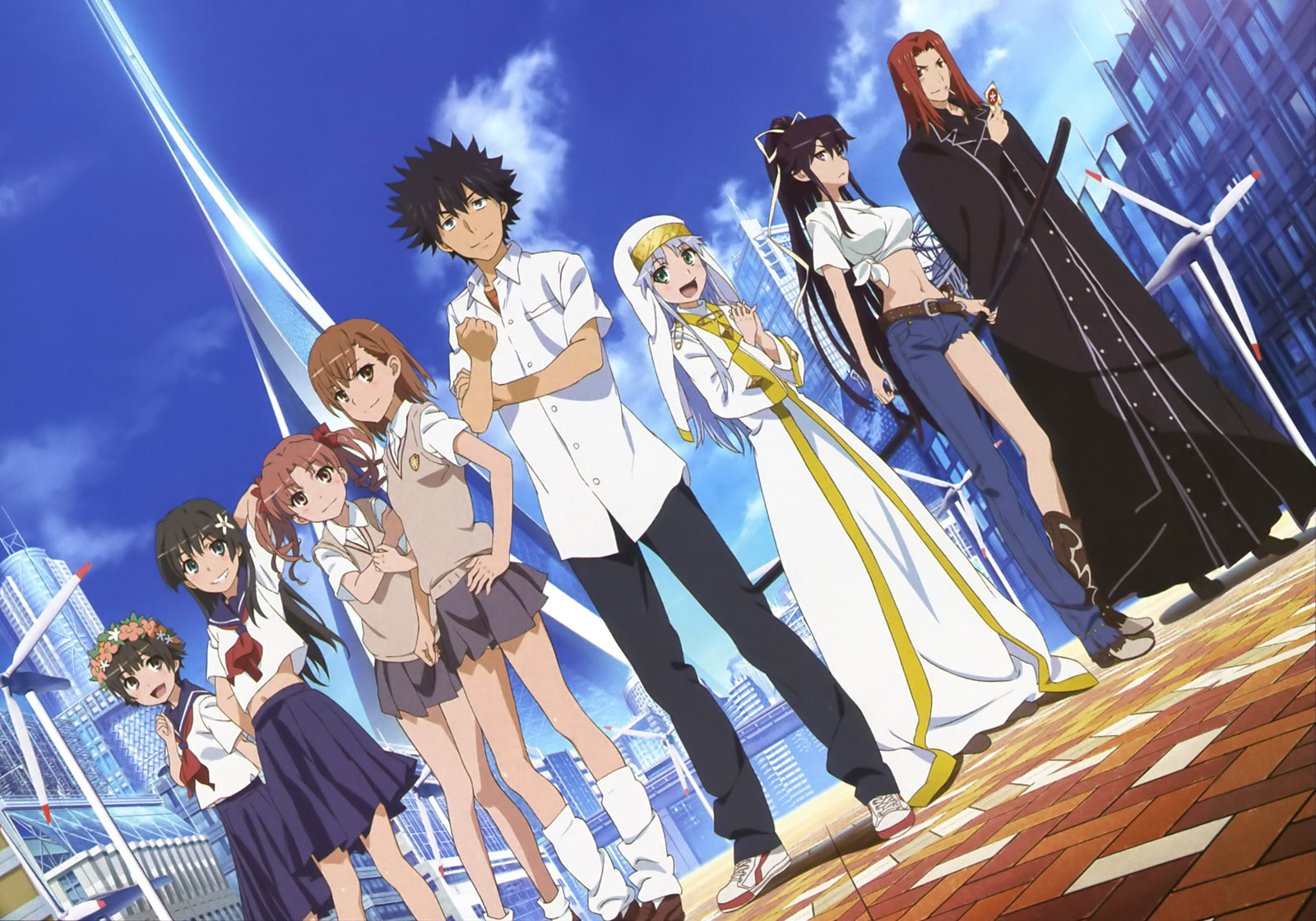 Top 30 addicting anime Top 30 Toaru Majutsu no Index haruhichan.com series