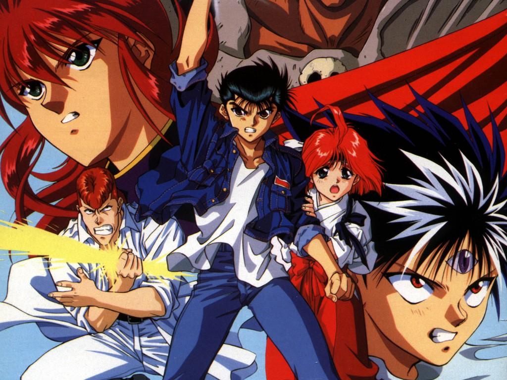 Top 30 addicting anime Top 30 Yu Yu Hakusho haruhichan.com series