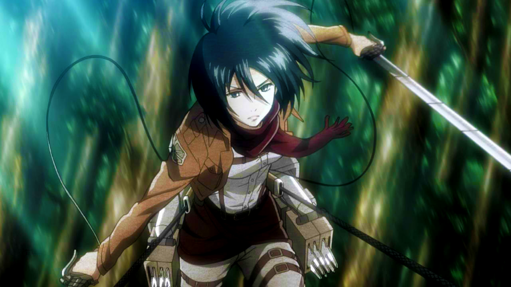 Top 5 Anime Characters People Want to Cosplay as for Halloween haruhichan.com Mikasa Ackerman Attack on Titan