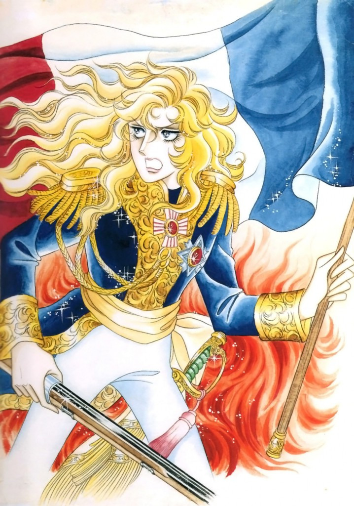 Top 5 Anime Characters People Want to Cosplay as for Halloween haruhichan.com Oscar François de Jarjayes The Rose of Versailles