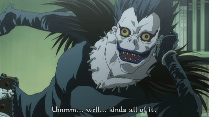 Top 5 Anime Characters People Want to Cosplay as for Halloween haruhichan.com Ryuk Death Note