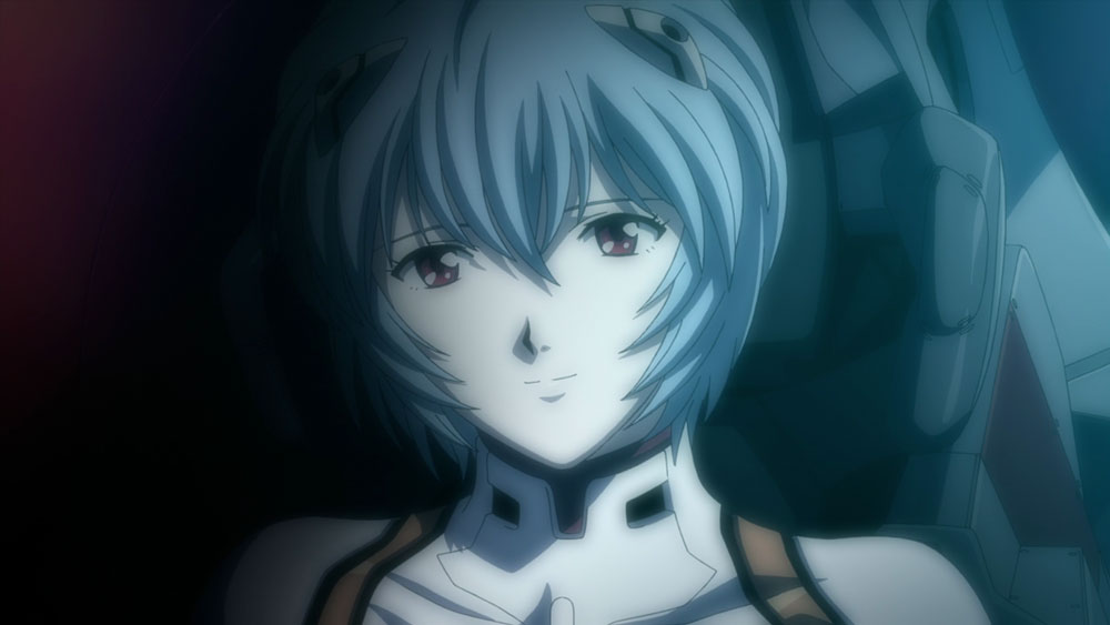 Top Blue Hair Anime Characters---Rei