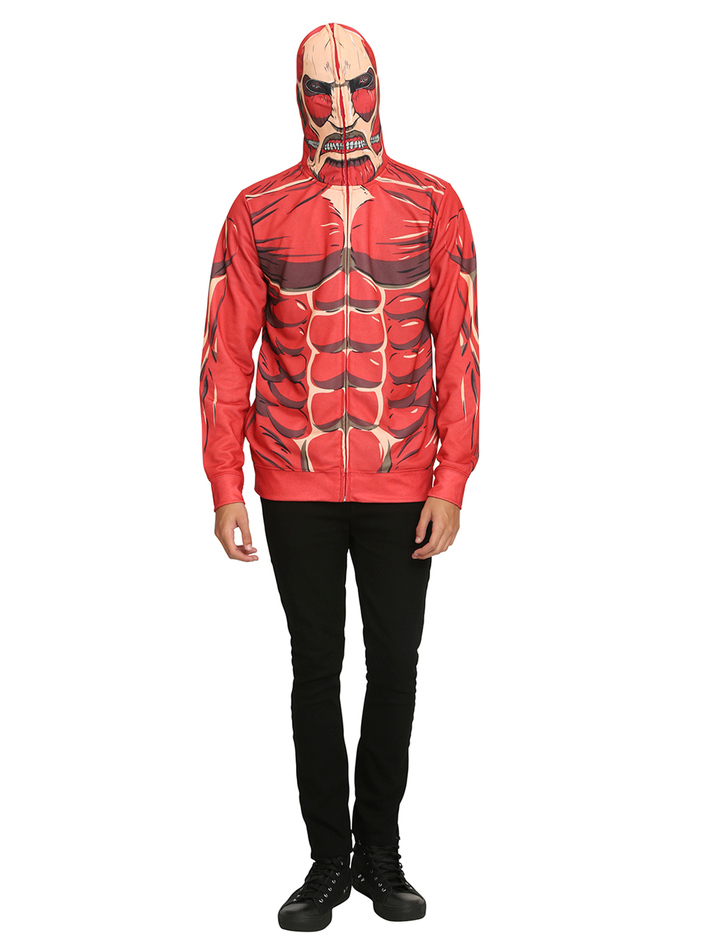 Transform into the Colossal Titan with This New Attack on Titan Hoodie 1