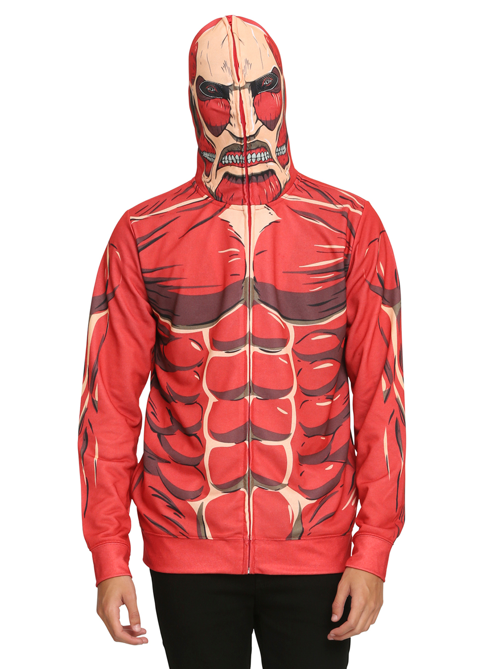 Transform into the Colossal Titan with This New Attack on Titan Hoodie 2