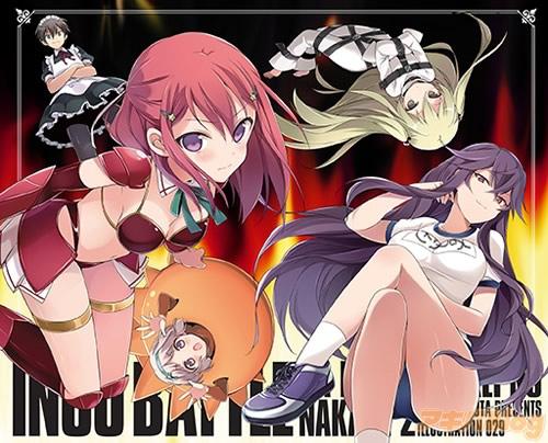 Trigger to produce Inou Battle wa Nichijou-kei no Naka de Anime boobs