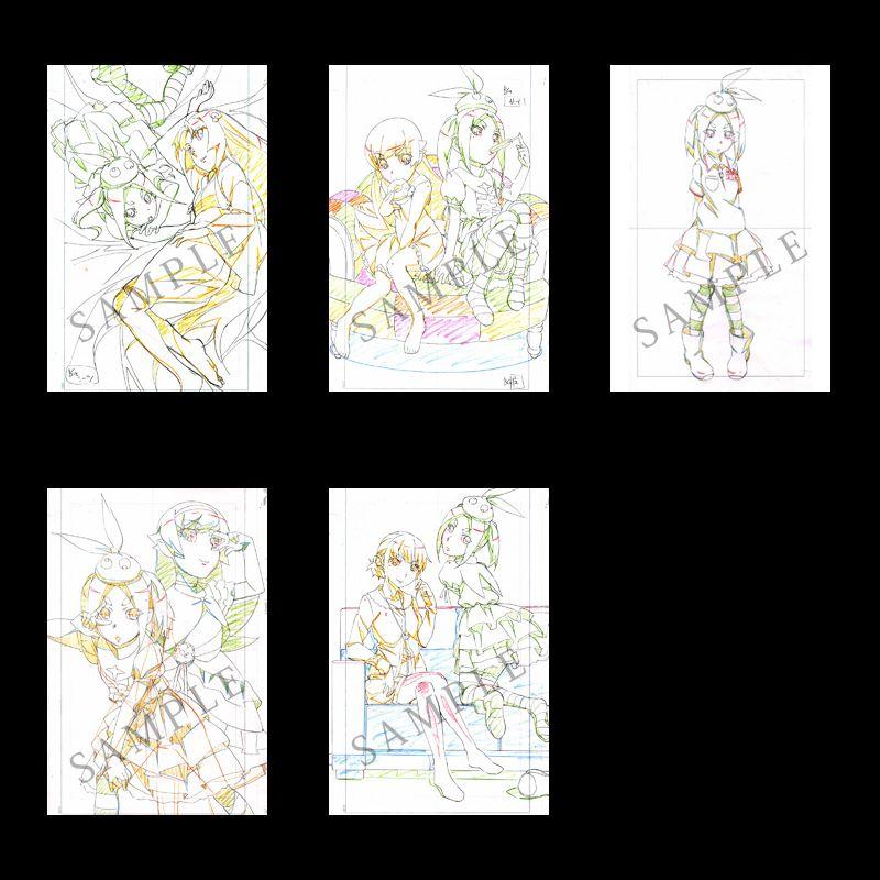 Tsukimonogatari Volume 2 Blu-Ray DVD Cover Revealed haruhichan.com store bonuses monogatari