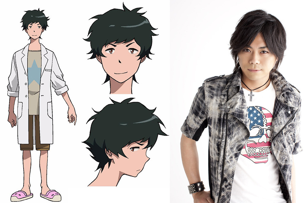 Two New Promotional Videos & Cast Revealed for Digimon Adventure Tr Daigo Nishijima