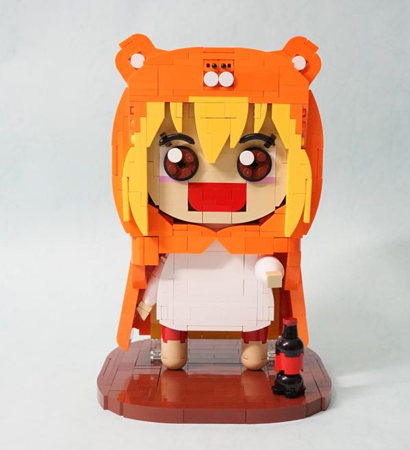 Umaru Gets Recreated out of Lego Blocks 1