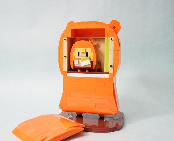 Umaru Gets Recreated out of Lego Blocks 3
