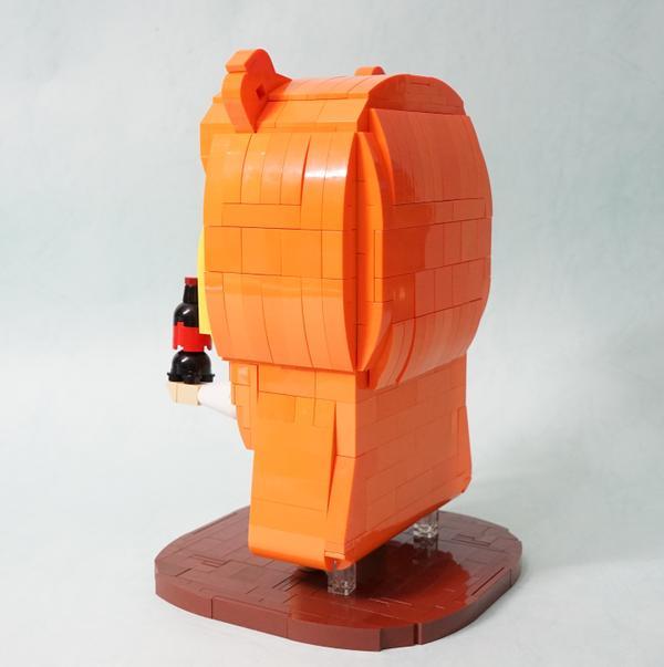 Umaru Gets Recreated out of Lego Blocks 4
